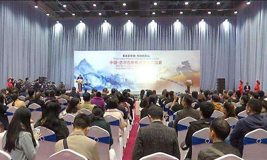 中国—吉尔吉斯斯坦美术作品展广西开幕