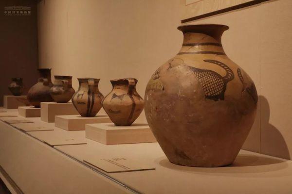 黄河中上游史前彩陶精品在国博展出