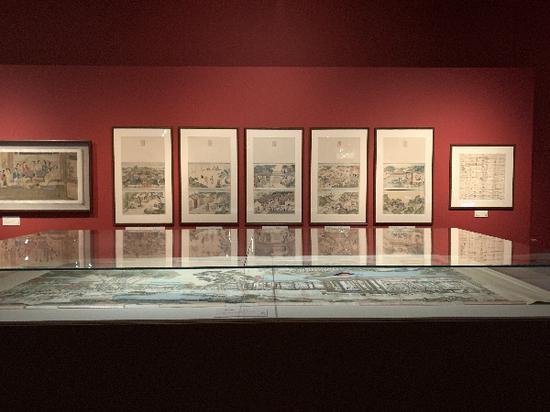 有史以来最大的红楼梦展:古画抄本和曹霑故居