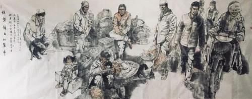 当代画家姜耀南作品二十四万元拍卖成交