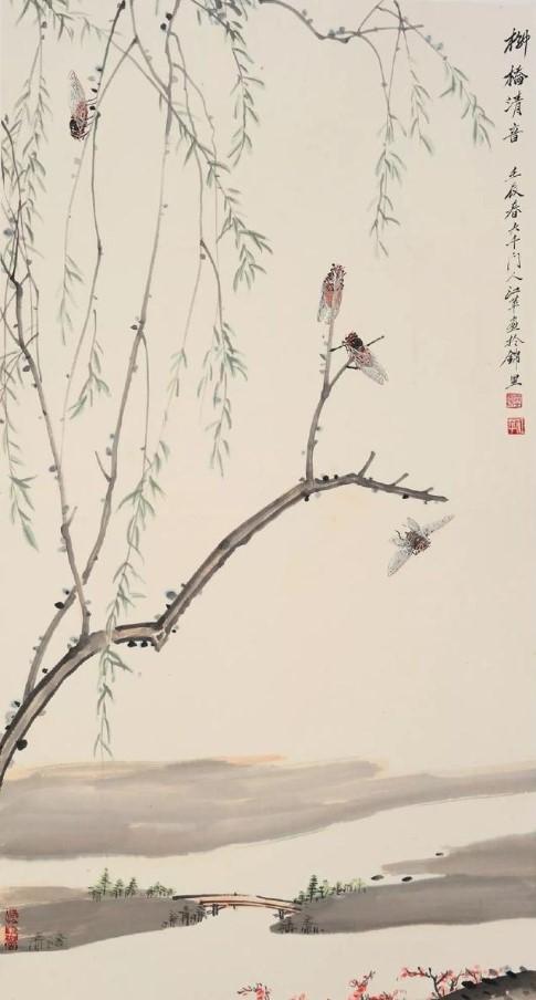 张大千门人——著名画家江苹作品赏析