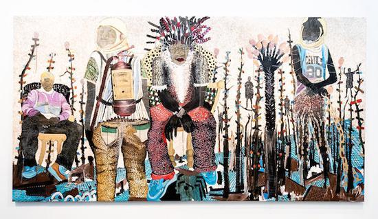 2020纽约军械库展览会 大型绘画与激进主义艺术