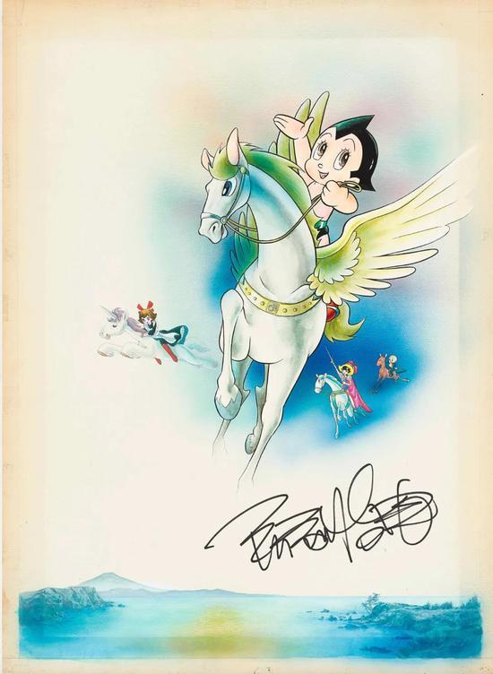 香港苏富比推出日本漫画展售会及网络拍卖会