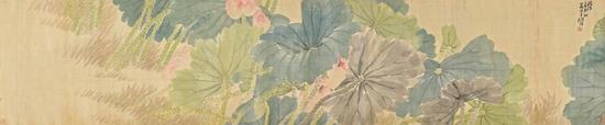 诚轩春拍:任伯年《渌水荷花朵朵开》172.5万成交